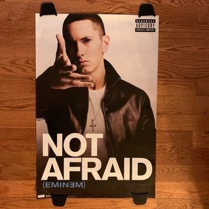 Other - Eminem Not Afraid Recovery Shady Records Poster